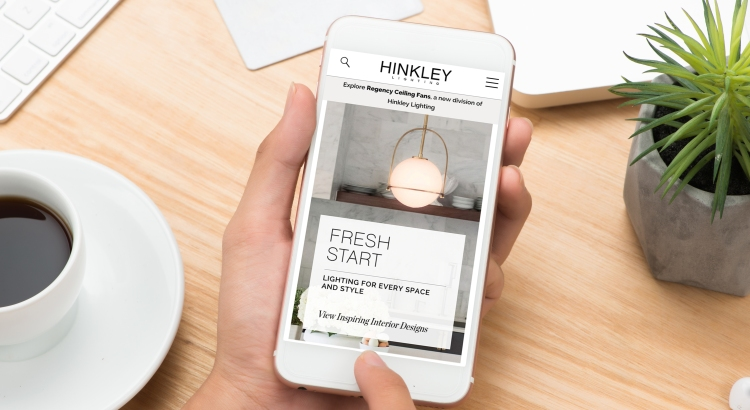 Hinkley Website on Iphone