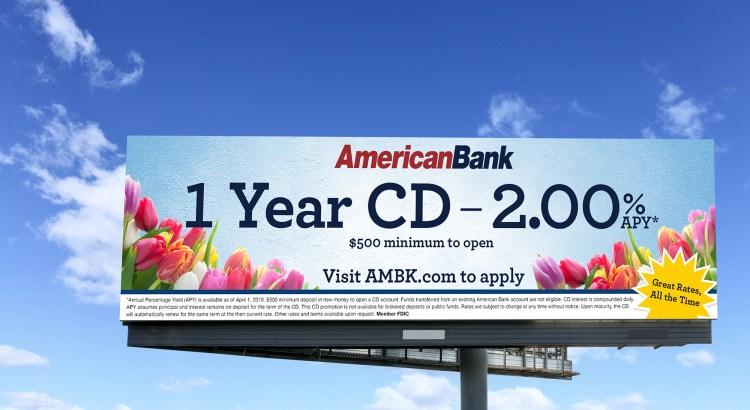 American Bank Billboard