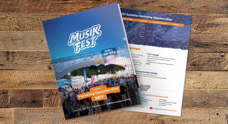 MusikFest Marketing Opportunities Program 2017
