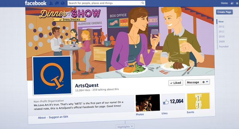 Artsquest Facebook Page