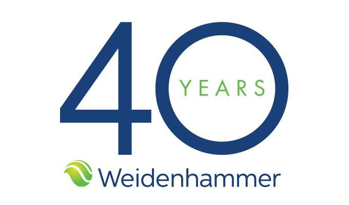 Weidenhammer Celebrates 40 Years in Business