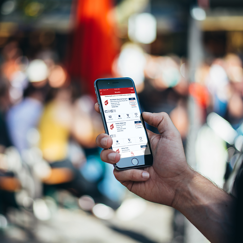 Allergy Eats App on Iphone
