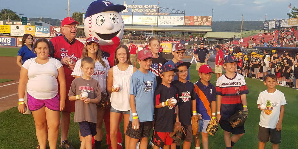 Reading Phillies Weidenhammer Night