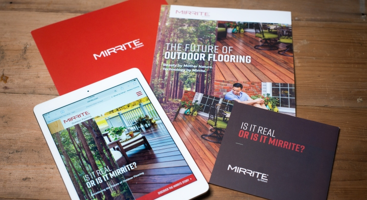 Mirrite Print Collateral
