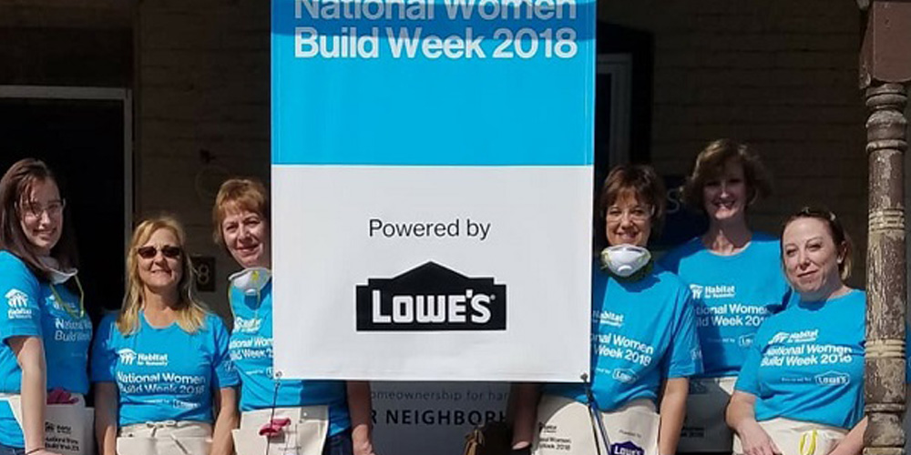 National Women Build Week 2018