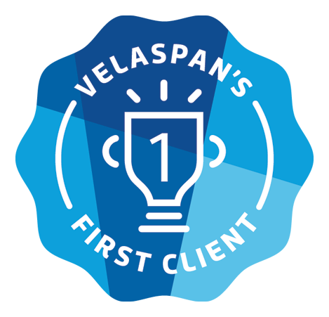 velaspan first client badge