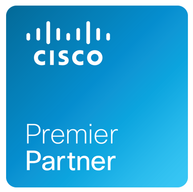 Cisco Premier Partner logo badge