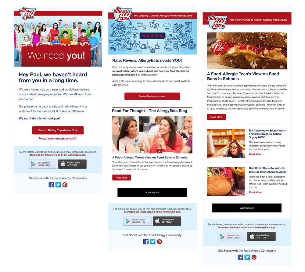 Examples of email marketing